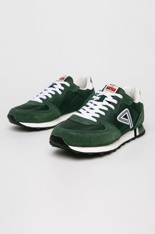 Pepe Jeans - Boty zelená