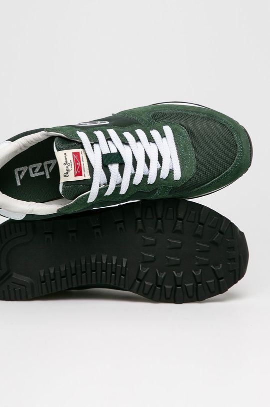 zelená Pepe Jeans - Boty