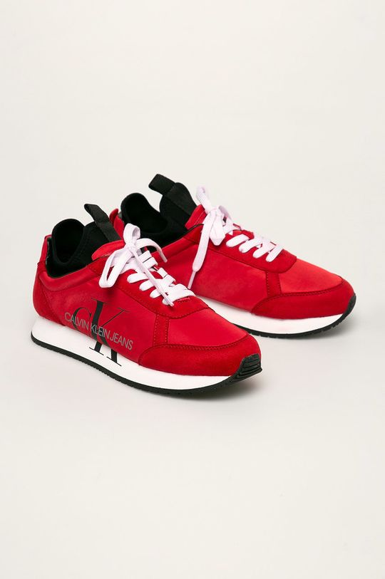 Calvin Klein Jeans - Boty červená