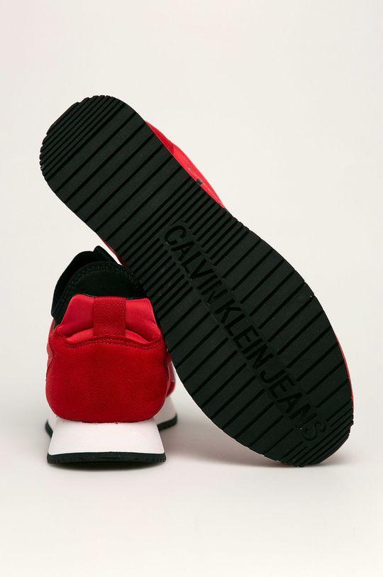 Calvin Klein Jeans - Boty Svršek: Textilní materiál Vnitřek: Textilní materiál Podrážka: Umělá hmota