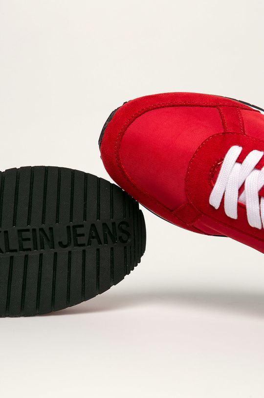 červená Calvin Klein Jeans - Boty