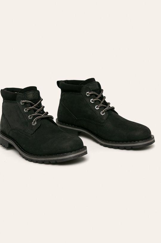 Wrangler - Kotníkové boty černá