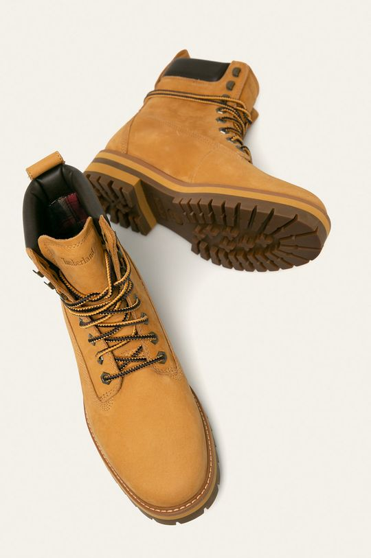 svetlobéžová Timberland - Topánky Courma Guy