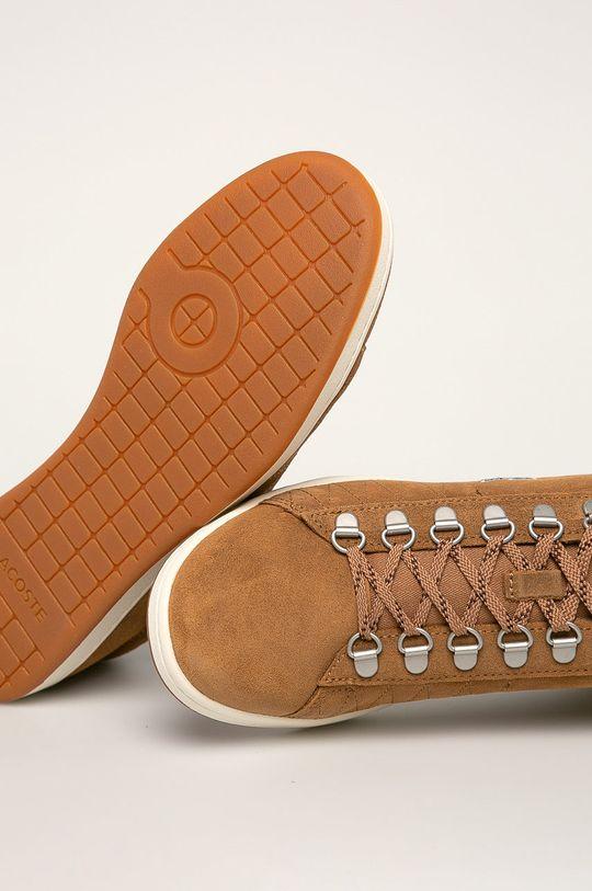 златисто-кафяв Lacoste - Обувки Carnaby Evo 319 3 Sma
