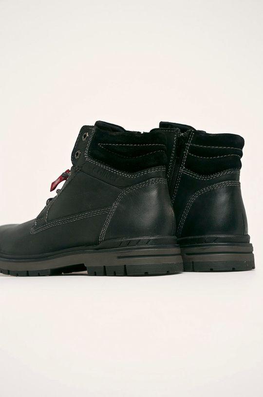 s. Oliver - Pantofi Gamba: Piele naturala Interiorul: Material textil Talpa: Material sintetic
