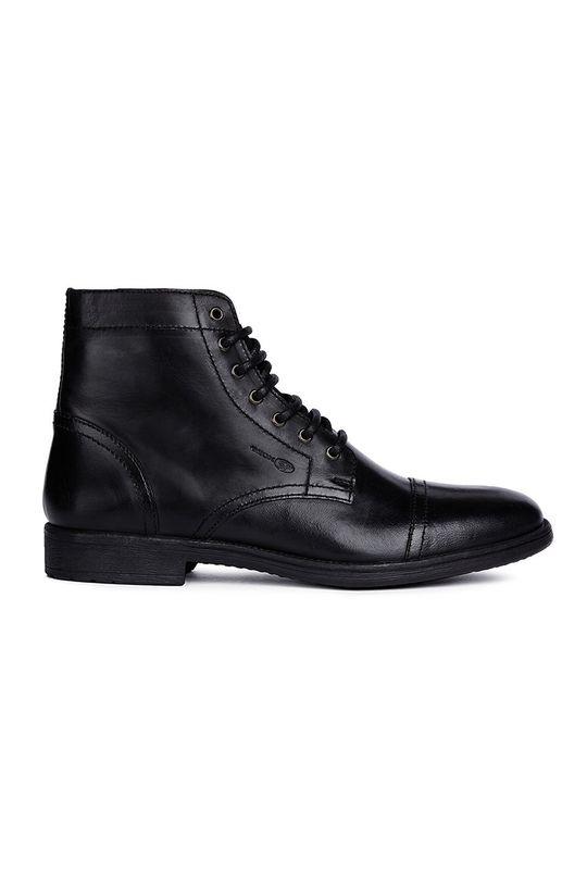 čierna Geox - Členkové topánky Pánsky