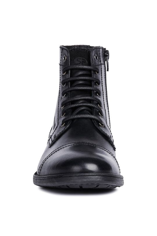 Geox - Členkové topánky  Zvršok: Prírodná koža Vnútro: Syntetická látka, Textil Podrážka: Syntetická látka