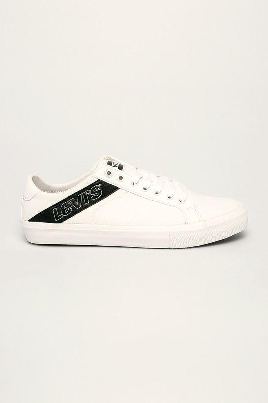 бял Levi's - Обувки Woodward Чоловічий