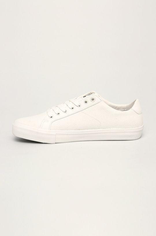 бял Levi's - Обувки Woodward