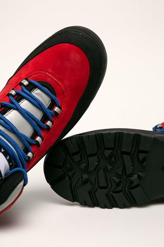 červená Tommy Jeans - Topánky