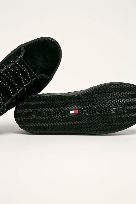 čierna Tommy Hilfiger - Topánky