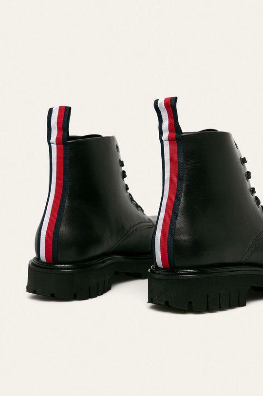 Tommy Hilfiger - Kožené boty Svršek: Přírodní kůže Vnitřek: Přírodní kůže Podrážka: Umělá hmota