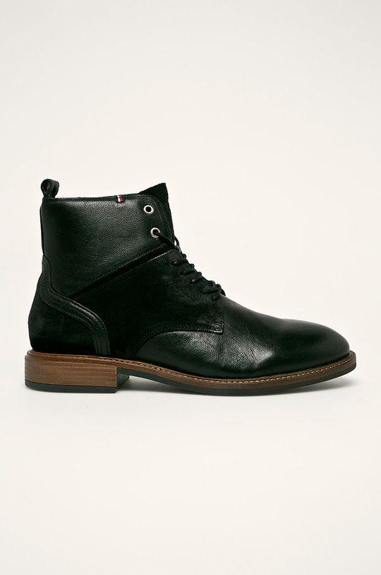 čierna Tommy Hilfiger - Topánky Pánsky