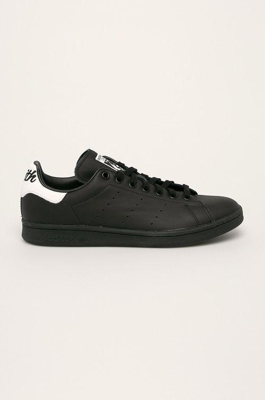 čierna adidas Originals - Topánky Stan Smith Pánsky