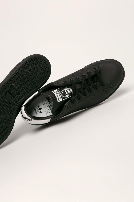 čierna adidas Originals - Topánky Stan Smith