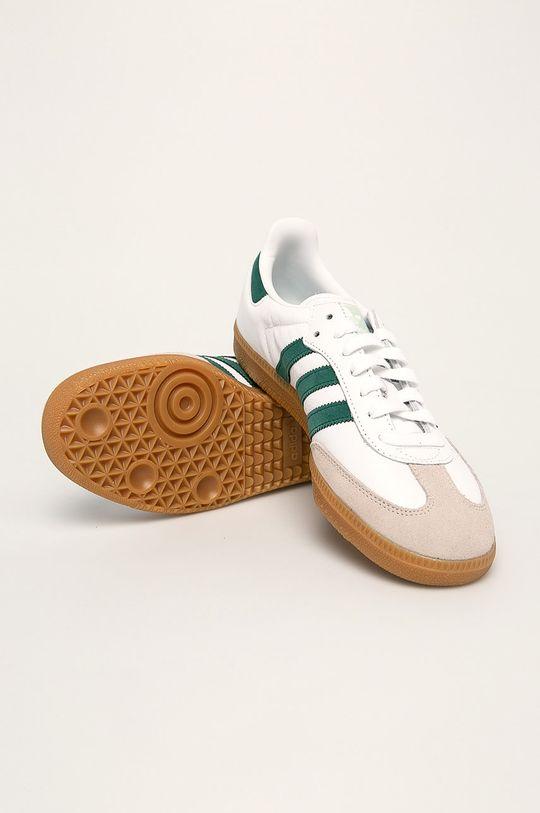 бял adidas Originals - Обувки Samba Og