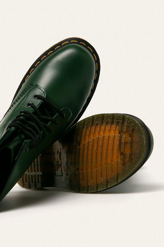 verde inchis Dr Martens - Ghete de piele