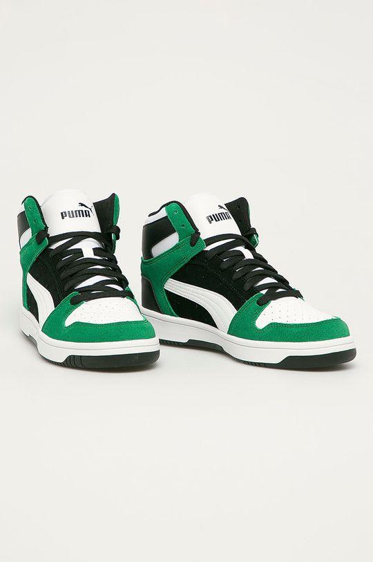 Puma - Topánky Rebound Layup čierna