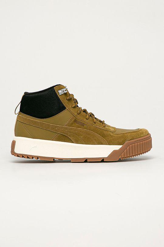 olivová Puma - Kožené boty Tarrenz Pánský
