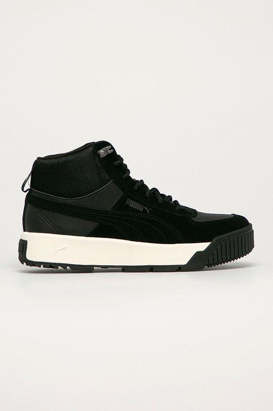 černá Puma - Kožené boty Tarrenz Pánský