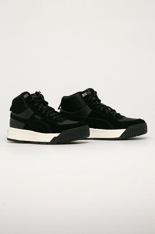 Puma - Kožené boty Tarrenz černá