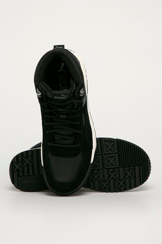 černá Puma - Kožené boty Tarrenz