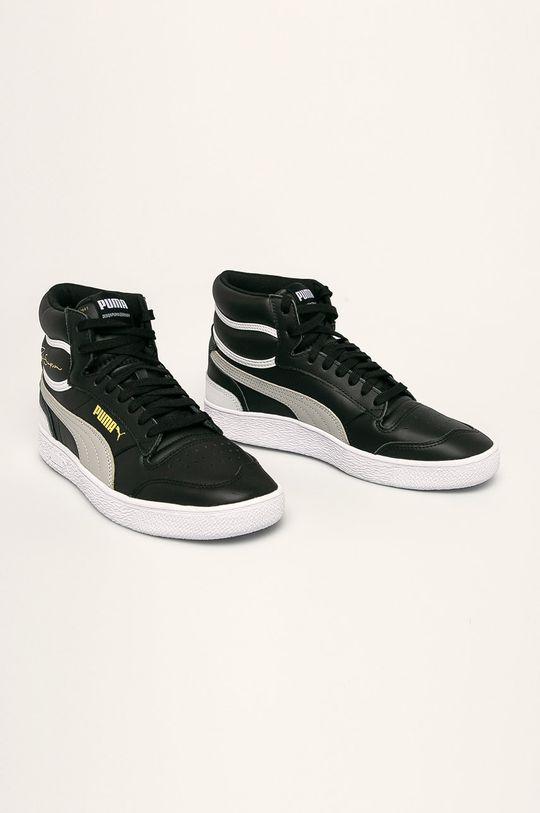 Puma - Topánky Ralph Sampson Mid čierna