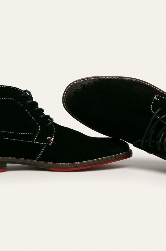 negru Cross Jeans - Pantofi