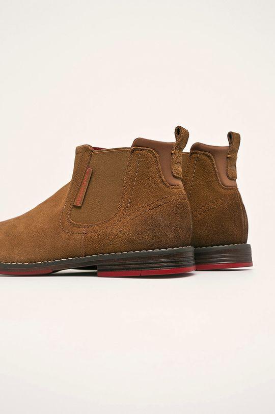 Cross Jeans - Pantofi Gamba: Piele intoarsa Interiorul: Material sintetic, Material textil Talpa: Material sintetic