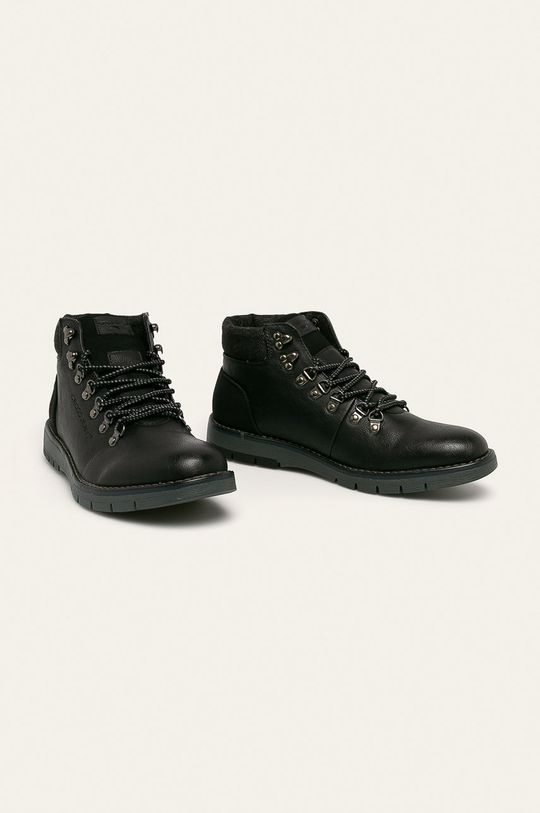 Cross Jeans - Boty černá