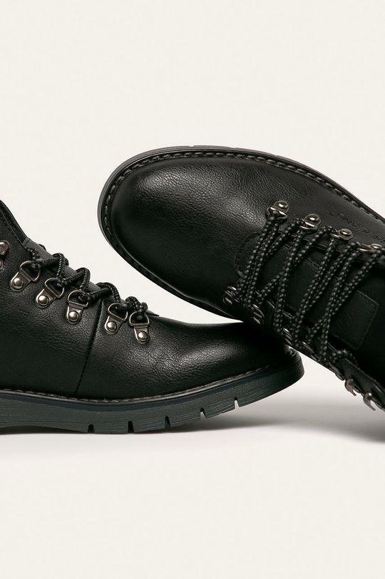 černá Cross Jeans - Boty