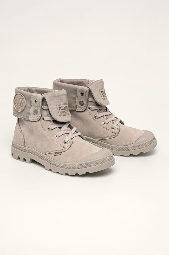 Palladium - Boty světle šedá