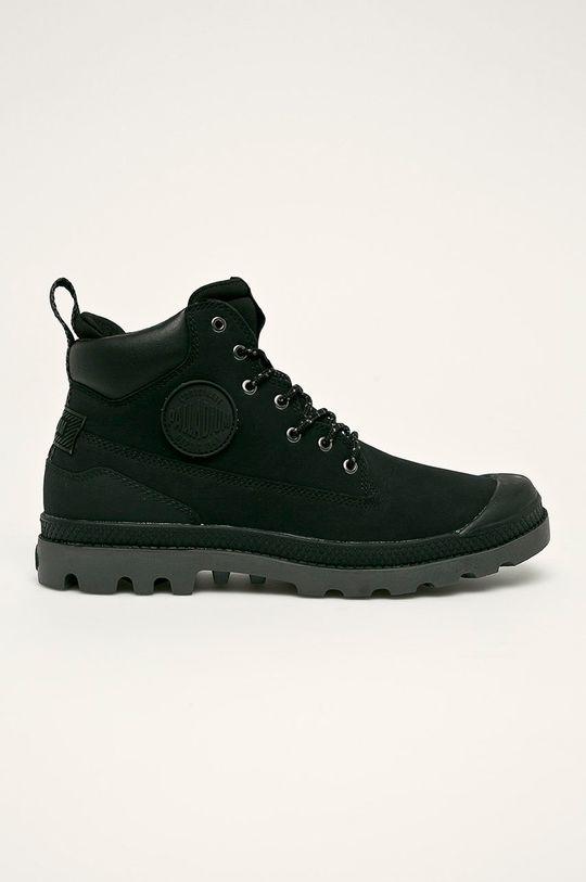 čierna Palladium - Topánky Pánsky