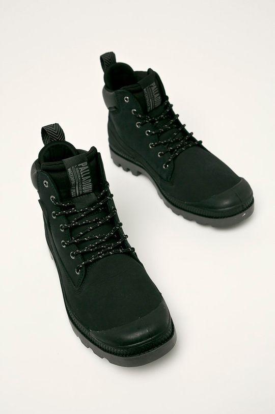 Palladium - Topánky čierna