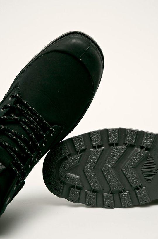 čierna Palladium - Topánky