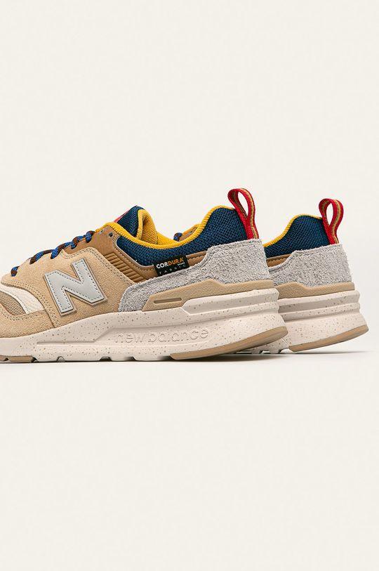New Balance - Topánky CM997HFA  Zvršok: Textil, Prírodná koža Vnútro: Textil Podrážka: Syntetická látka