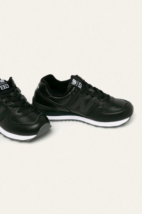 New Balance - Topánky ML574SNR čierna