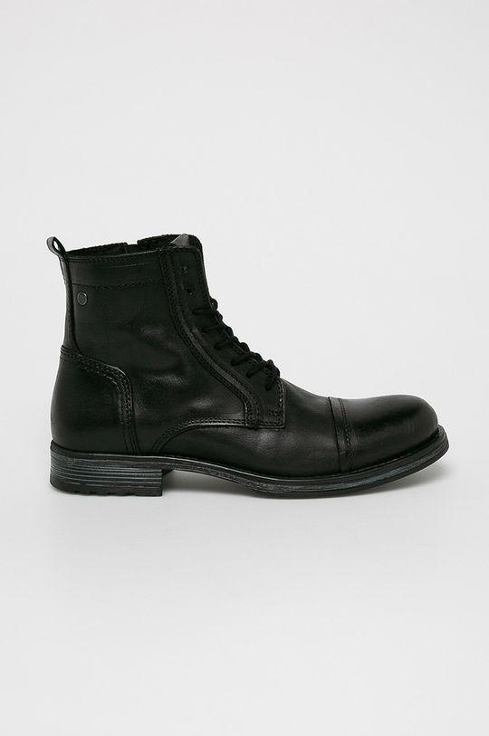 černá Jack & Jones - Kotníkové boty Pánský