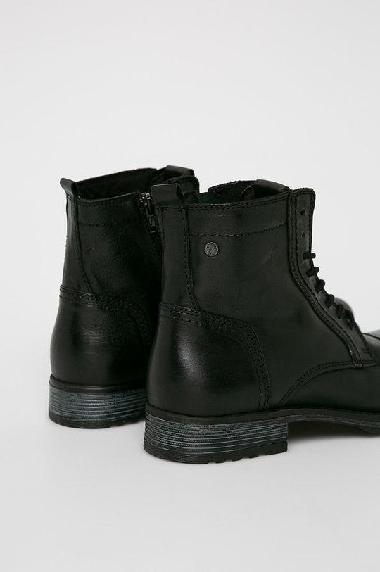 Jack & Jones - Kotníkové boty Svršek: Přírodní kůže Vnitřek: Textilní materiál Podrážka: Umělá hmota