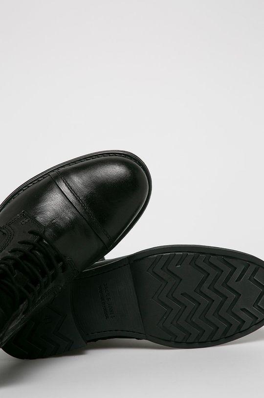 černá Jack & Jones - Kotníkové boty