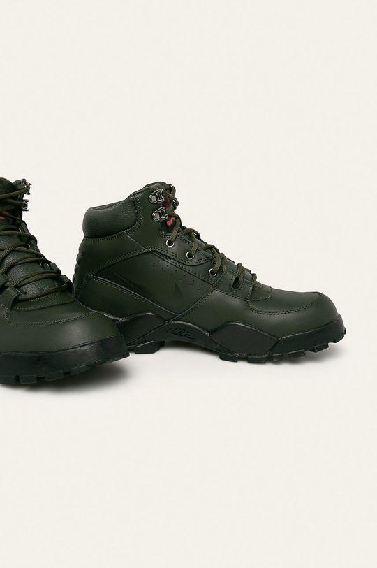 Nike Sportswear - Buty Rhyodomo brązowa zieleń
