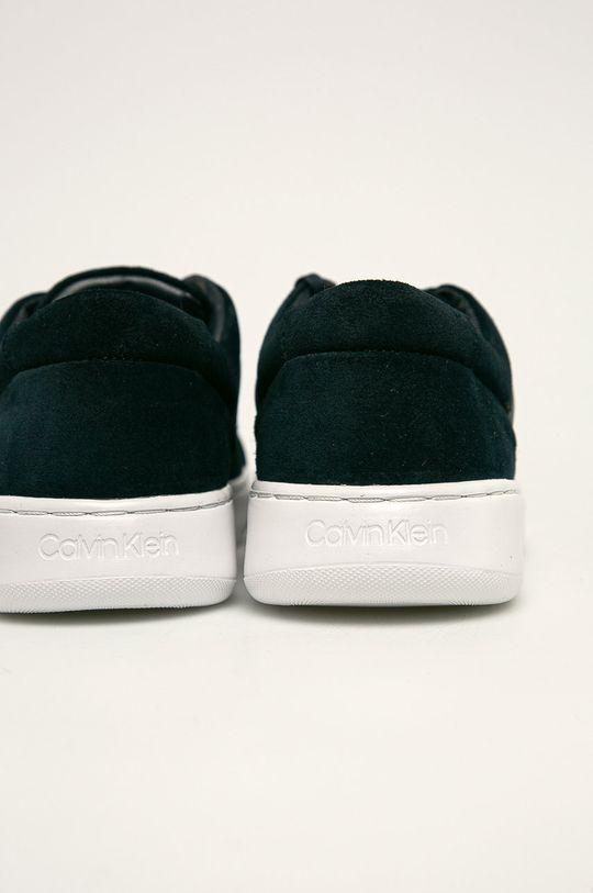 Calvin Klein - Buty skórzane Cholewka: Materiał syntetyczny, Skóra zamszowa, Wnętrze: Materiał syntetyczny, Materiał tekstylny, Podeszwa: Materiał syntetyczny