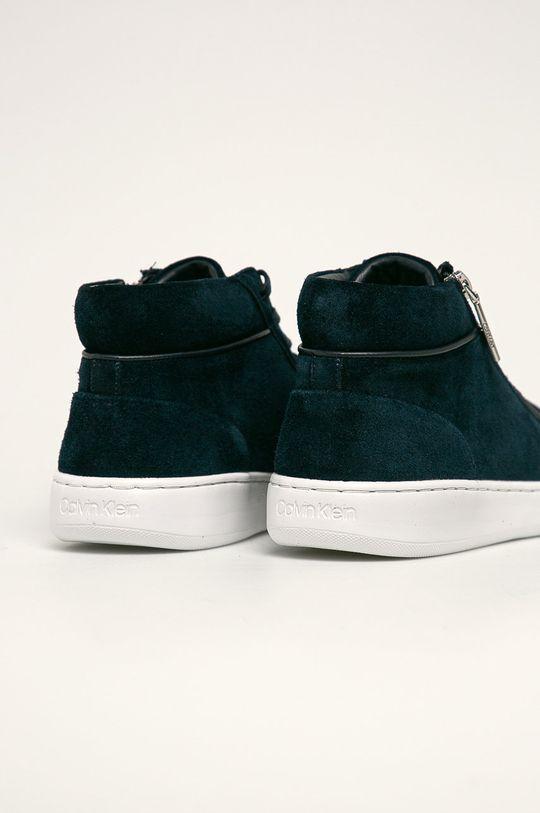 Calvin Klein - Kožené boty Svršek: Semišová kůže Vnitřek: Umělá hmota, Textilní materiál Podrážka: Umělá hmota