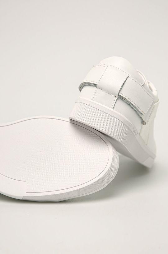 Calvin Klein - Kožená obuv  Zvršok: Prírodná koža Vnútro: Syntetická látka, Textil Podrážka: Syntetická látka