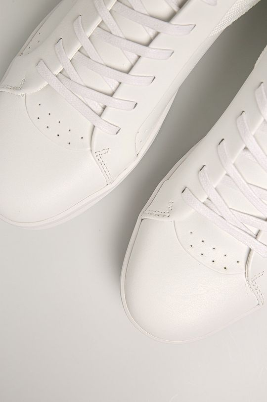 biela Calvin Klein - Kožená obuv