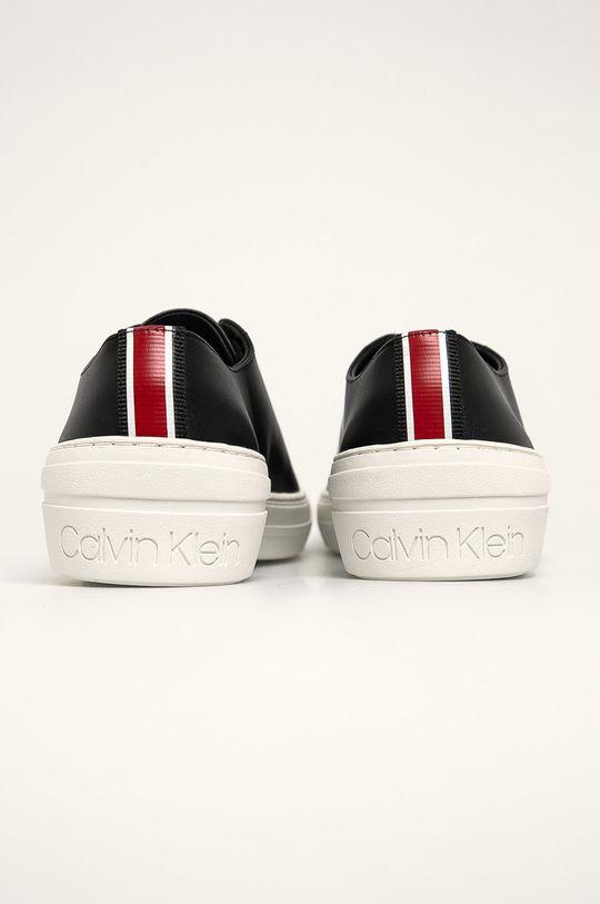 Calvin Klein - Kožené boty Svršek: Přírodní kůže Vnitřek: Umělá hmota, Textilní materiál Podrážka: Umělá hmota