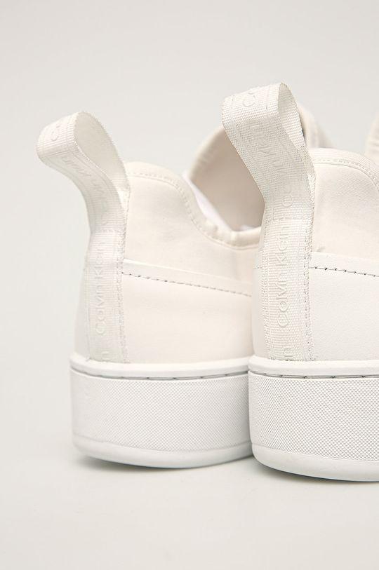 Calvin Klein - Kožené boty Svršek: Textilní materiál, Přírodní kůže Vnitřek: Umělá hmota Podrážka: Umělá hmota