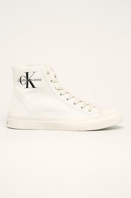 bílá Calvin Klein Jeans - Kecky Pánský