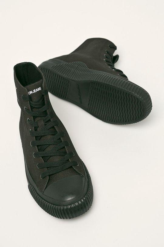 černá Calvin Klein Jeans - Kecky