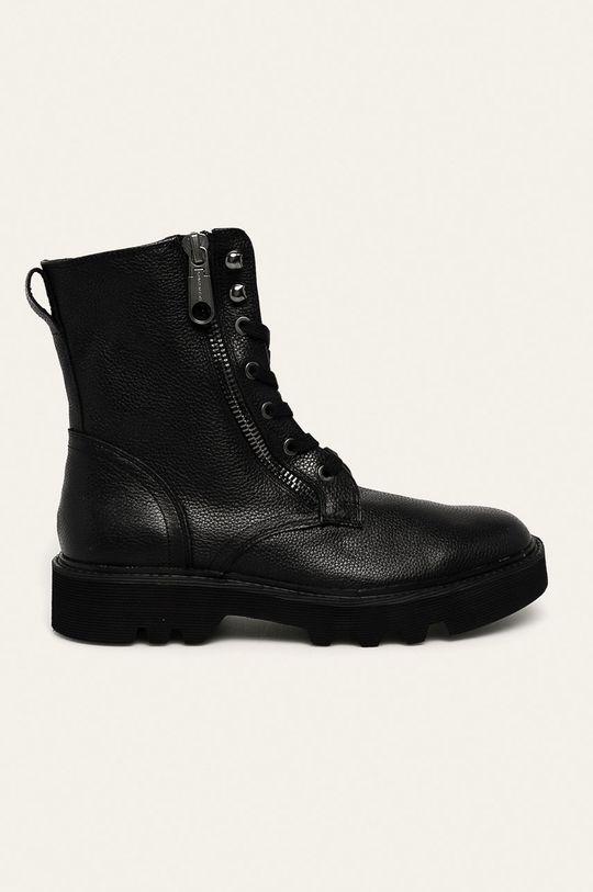 negru Calvin Klein Jeans - Ghete de piele De bărbați